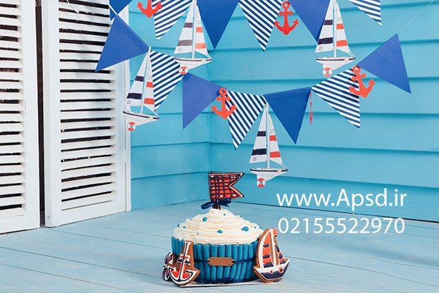 دانلود بکگراند جشن تولد پسرانه