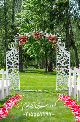 دانلود بکگراند باغ عروسی