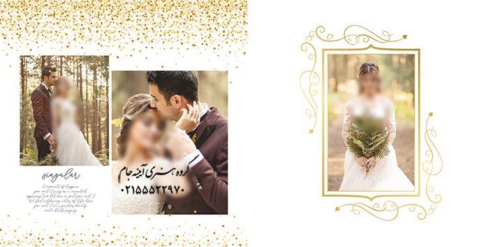 فون لایه باز عروس و داماد