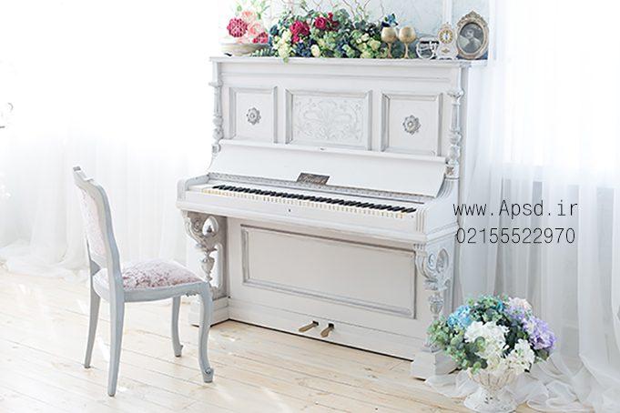 دانلود بکگراند وایت روم کودک با پیانو