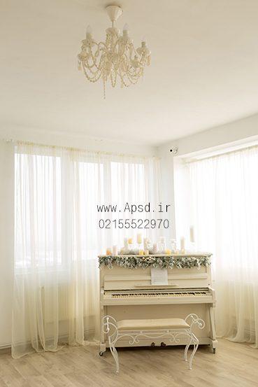 دانلود بکگراند وایت روم عروس با پیانو