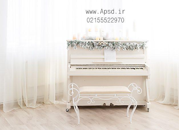 دانلود بکگراند وایت روم با پیانو