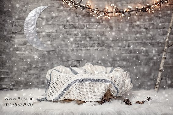 دانلود بکگراند کریسمس نوزاد