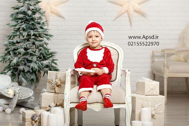 دانلود تم کودک آتلیه بابانوئل