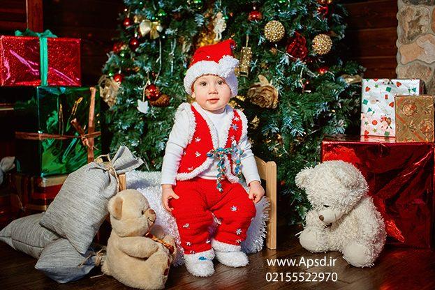 دانلود لباس لایه باز بابانوئل