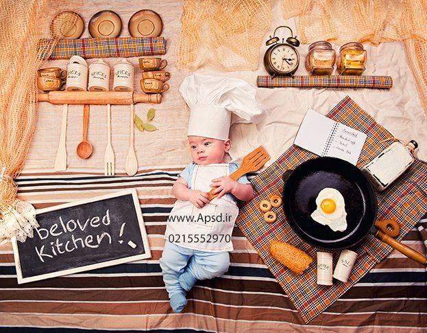 دانلود فون نوزاد آَشپزی